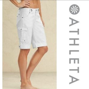 ATHLETA kick It hiking Bermuda cargo shorts